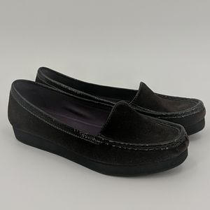 BODEN Brown Suede Loafers